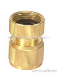 Brass 3/4 Female garden hose connector