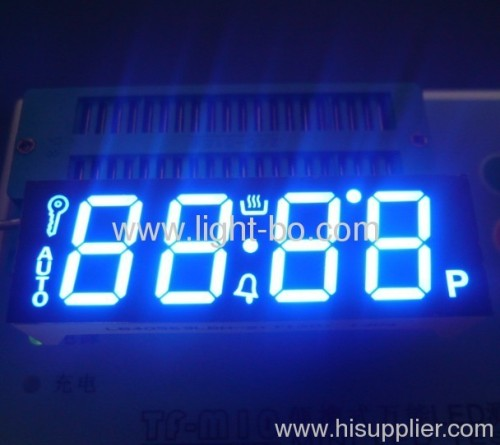 Custom 0.56-inch four-digit numeric led displays for digital oven timer control