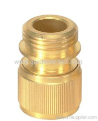 garden brass male quick connector