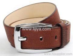 leather back support belt