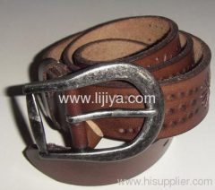 leather belt cutting machine