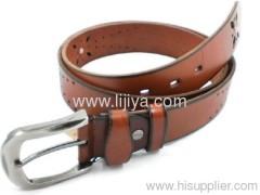 leather belt manufacturing machine
