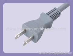 2 Pins Japan power plug with cable