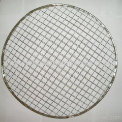 barbecue wire mesh/round barbecue netting
