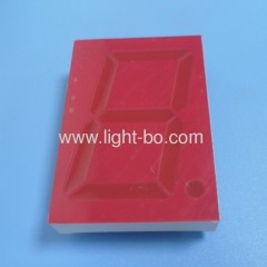 "Rode Gezicht Rode Segmenten Ultra Bright Red 2.3 ""7 Segment LED Display"
