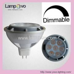 MR16 GU10 7W 7*1W 480LM 500LM Dimmable DIM Dim SPOT LAMP