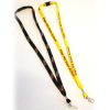 yellow 12mm Bootlace String Lanyards