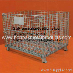 Wire Mesh Container for Industrial