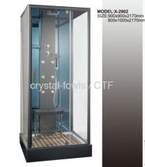 grey color luxury shower room