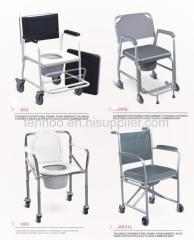 aluminum alloy commode rchair
