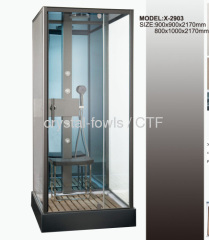 touch screen control panel shower rooms