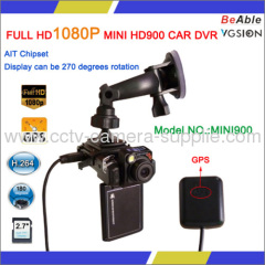 FULL HD1080P MINI HD900 CAR DVR GPS