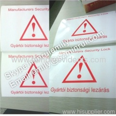 Shipping Adhesive Labels for cartons
