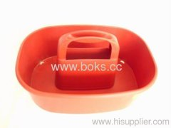 2013 red plastic tool baskets
