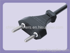 H03VVH2-F 2*0.75 Power cord with ISRAEL plug