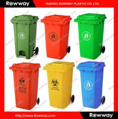 240L plastic waste bin