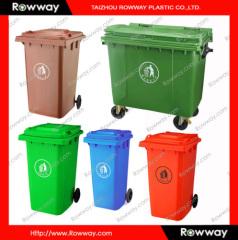 660L plastic trash bin