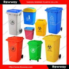 outdoor plastic rubbish bin