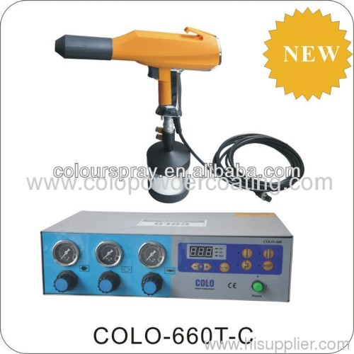 fire extinguisher powder coating gun