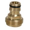 "brass 3/4"" male thread adapter"
