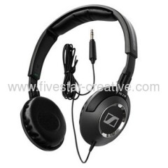 Sennheiser HD218 Closed Back On Ear Stereo Headphones Black