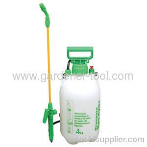 4.0L Outdoor manual pump handle pressure sprayer