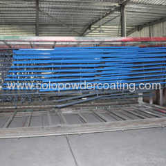 Aluminium powder coating line