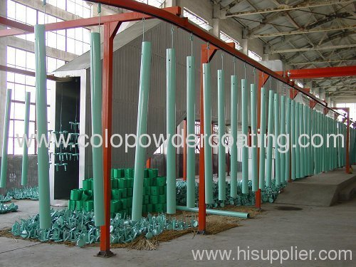 electrostatic automatic painting line