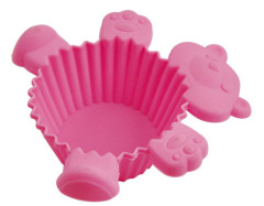 Cupcake baking cases Silicone Muffin cake cups on promotion