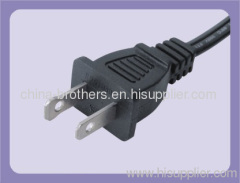 US/ American standard 2-pin power Plug with UL/ CUL approved