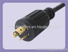 America UL/CUL approved interlocking plug