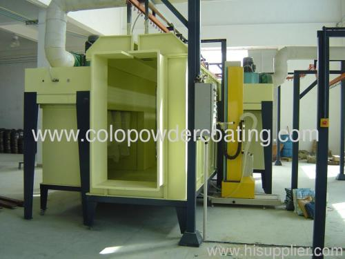 electrostatic powder coating booth in China