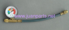 R134a hose with guage