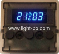 Four-digit 0.38common cathode super bright amber digital oven timer displays
