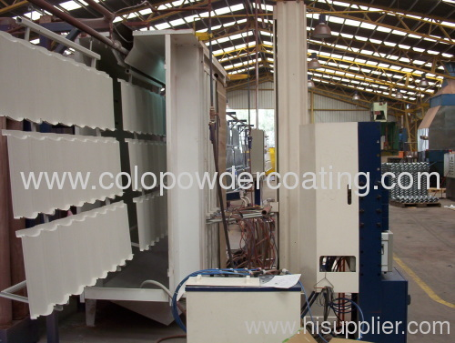 High Quality Automatic Powder Coating Line made in China