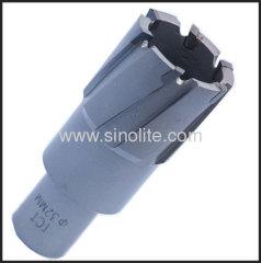 TCT hole cutter weldon shank