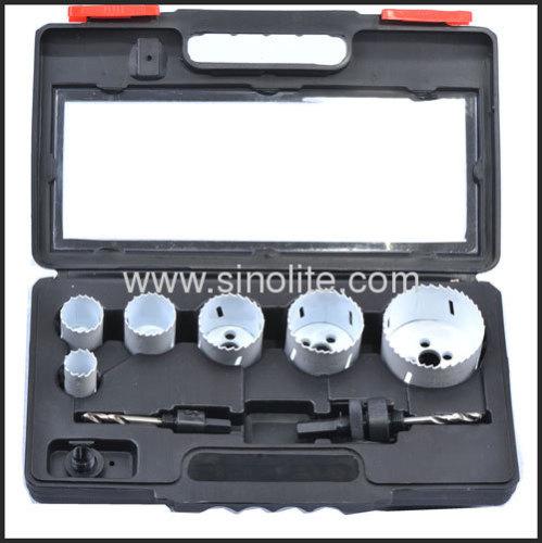 8pcs Bimetal Hole Saw Electrican's Set
