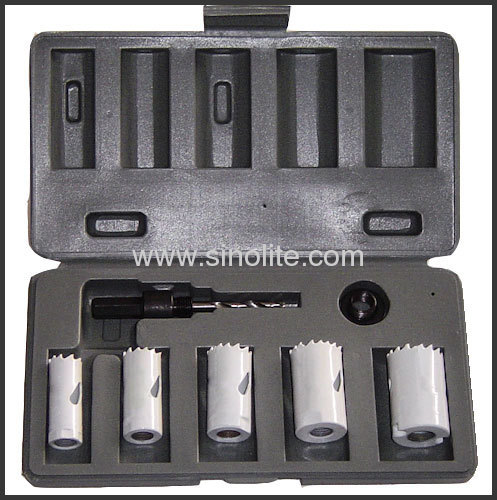 HSS Bi-metal hole saw Handyman Kits for general purpose 7pcs/set