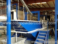 Electrophoretic Metal Powder Coating Line