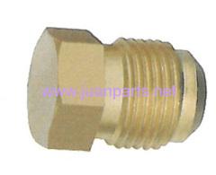 Brass fitting Flare plugs