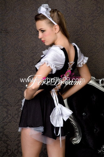 sexy products sexy lingeriecospaly costume Beautiful maidservant cosplay costume ZF-007