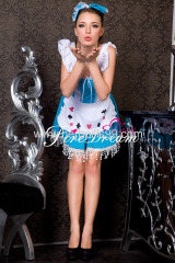 Beautiful maidservant cosplay costume ZF-038