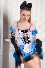Beautiful maidservant cosplay costume ZF-031