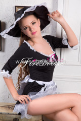 Beautiful Alice maidservant cosplay costume ZF-005
