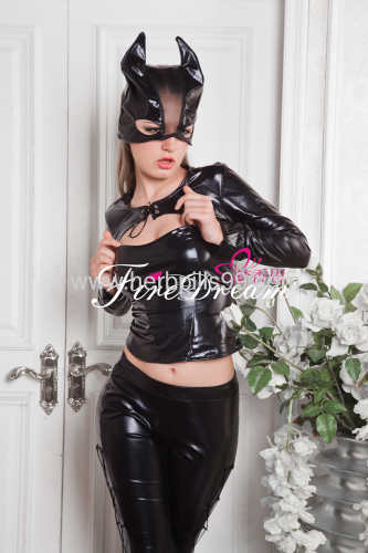sexy products sexy lingeriecospaly costume Beautiful cats style leather sets P-003