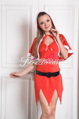 Beautiful christmas cosplay costume ZF-013