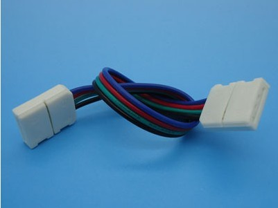 RGB Color LED Strip Solderless Splice Connector