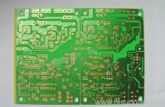 single side PCB with 0.25mm hole diameter