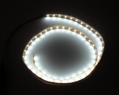 Waterproof white LED Strip lights 12V