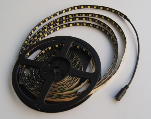 Black PCB 5050smd Waterproof LED Strip lights